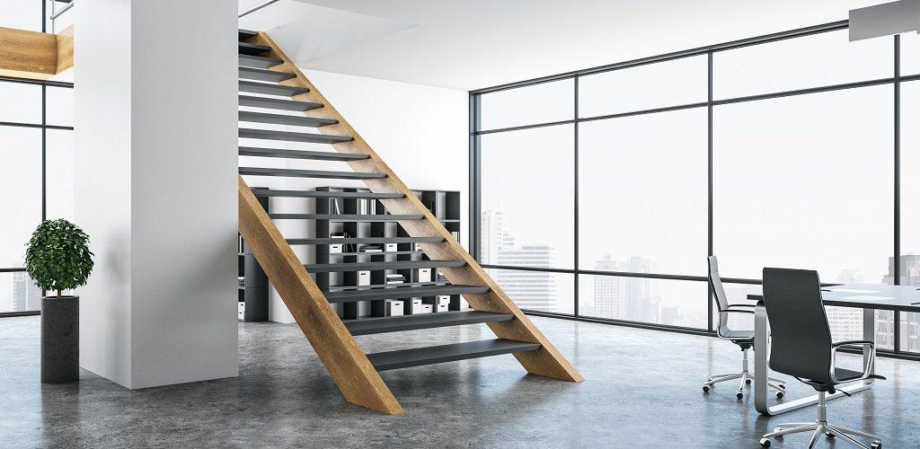 Escalier design industriel